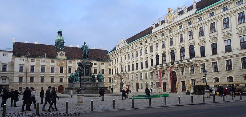 Derrière le Hofburg