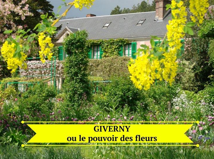 Giverny ou le pouvoir des fleurs